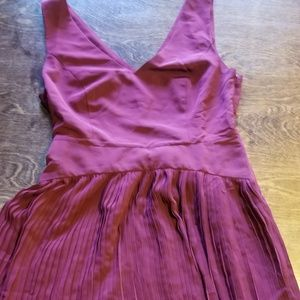 Maroon Modcloth dress